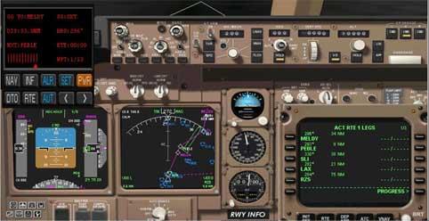 Fs2004 777 panel